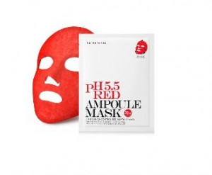 SO NATURAL pH 5.5 Red Ampoule mask 30ml