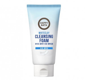 HAPPY BATH White Clay Cleansing Foam 150g