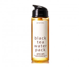 SO NATURAL Black Tea water pack 200ml