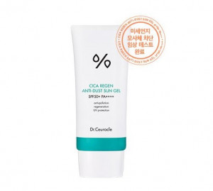 Dr.Ceuracle CiCa Regen anti-dust sun gel SPF50+PA++++50ml
