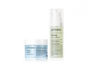 [S] PRIMERA facial mild peeling 15ml+Alpine berry watery cream15ml
