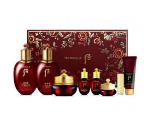 The history of Whoo Jinyulhyang special 3items set