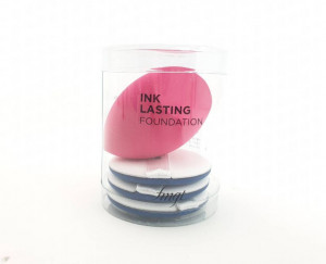 [S] THE FACE SHOP INK Lasting Foundaiton Puff set