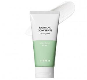 THE SAEM Natural Condition Scrub Foam [Deep pore cleansing] 150ml