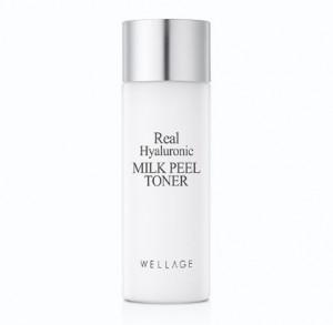 WELLAGE Real Hyaluronic Milk Peel toner 30ml