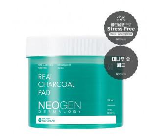 [Online Shop] NEOGEN Dermalogy Real Charcoal Pad 150ml 60ea