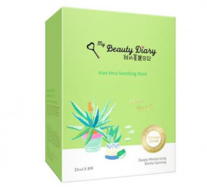 My beauty Diary Aloe vera soothing mask 23mlx8sheet