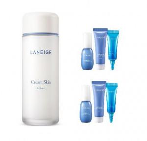 LANEIGE Cream Skin Refiner 150ml +[water bank Hydro kit 3items*2)