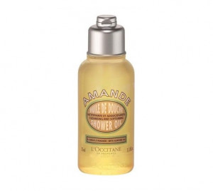 [S] L\'OCCITANE en provence Amande Cleansing and softening shower oil 35ml