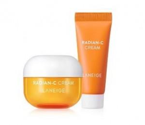 [S] LANEIGE Radian-C Cream 10ml+7ml