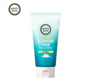[Online Shop] HAPPY BATH Perfect Deep Seasalt Cleansing Foam 150g