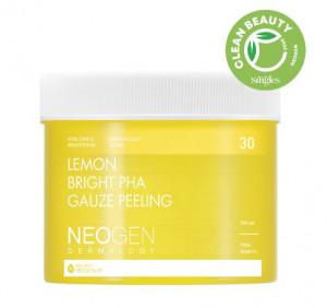 [Online Shop] NEOGEN Dermalogy Lemon Bright PHA Gauze Peeling 190ml/30p