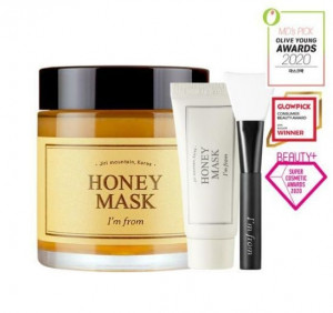 [Online Shop] I\'M FROM Honey Mask 120g +30g+brush (special set)