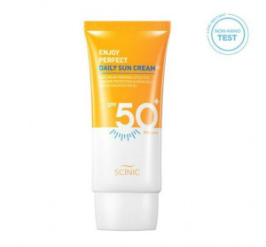 [Online Shop] SCINIC ENJOY Perfect Daily Sun cream EX SPF50+/PA+++ 50ml
