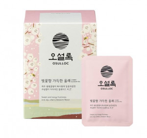 [Online Shop] OSULLOC Sweet and Tangy Fruitiness and Jeju Cherry Blossom Flavor 1.8 gx10pcs.