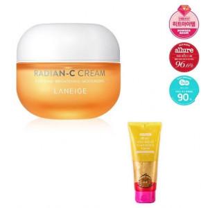 LANEIGE Radian-C Cream 30ml +(miplay foam150ml)