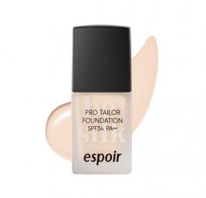 ESPOIR Pro Tailor Foundation Be silk SPF34PA++ 10ml