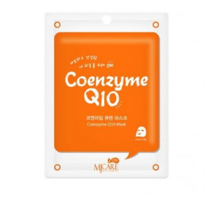 MJ CARE ON Essence Mask [Coenzyme Q10]