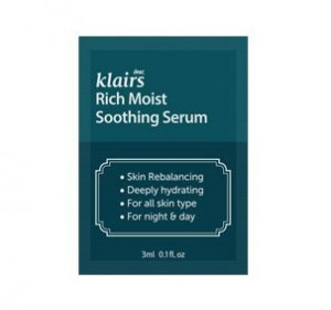 KLAIRS Rich Moist Soothing Serum 3mlx3ea