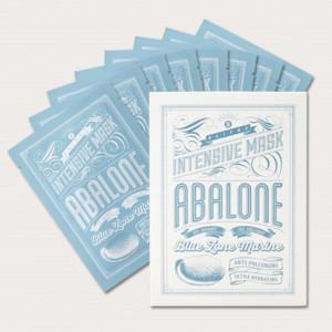BLITHE Blue Zone Marine Intensive Mask Abalone  1sheet