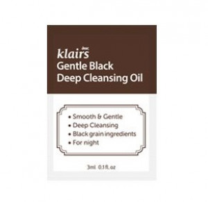 KLAIRS Gentle Black Deep Cleansing Oil 3mlx3ea