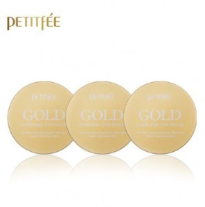 PETITFEE Gold Hydrogel Eye Patch 24K 60pcs *3ea