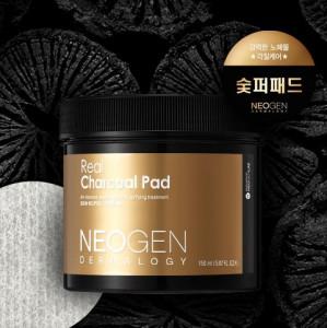 NEOGEN Dermalogy Real Charcoal Pad 60ea - Korean