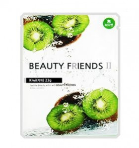 Beauty Friends II Essence Mask Sheet [Kiwi] 23gx10ea