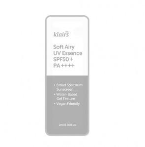 KLAIRS Soft Airy UV Essence SPF50+/PA++++2mlx3ea