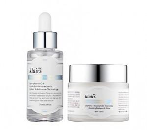 KLAIRS  Vitamin DUO (drop 35ml + E mask 90ml)