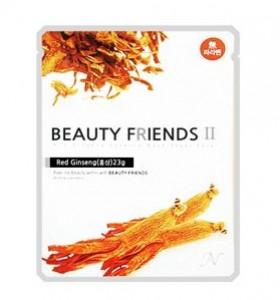 Beauty Friends II Essence Mask Sheet [Red ginseng] 23gx10ea