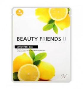 Beauty Friends II Essence Mask Sheet [Lemon] 23gx10ea
