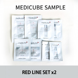 Medicube red line sample