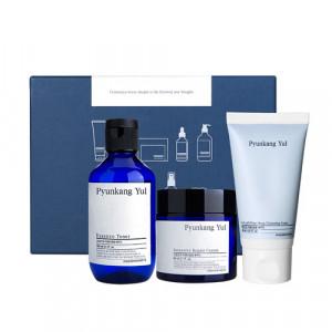 PYUNKANG YUL Skin Set (Repair Cream 50ml+ Essence toner 100ml + Cleansing Foam 40ml)