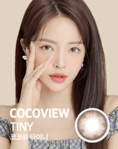 COCOVIEW Color Lense #TINY BROWN 1pair