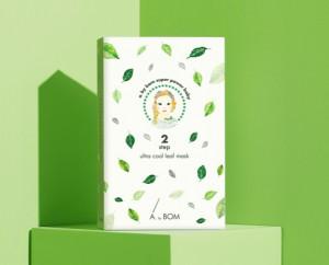 [SALE] ABYBOM 2Step Ultra Cool Leaf Mask 31ml*10ea