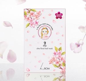 [SALE] ABYBOM 2Step Ultra Floral Leaf Mask 31ml*5ea