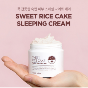 [SALE] VELYVELY Sweet Rice Cake Sleeping Cream 80ml