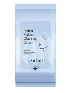 LANEIGE Perfect Makeup Cleansing Cotton 35ea