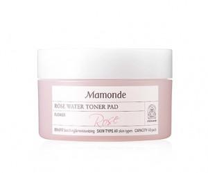 [E] MAMONDE Rose Water Toner Pad 40ea