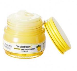 SKINFOOD Yuja Waterc Whitening Ampoule In Cream 2x