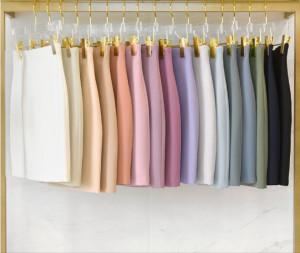 [W] Slim H Line Spring Skirt _S
