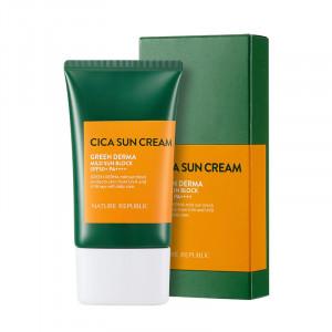 NATURE REPUBLIC Green Derma Mild Sun Cream SPF50+ PA++++ 50ml