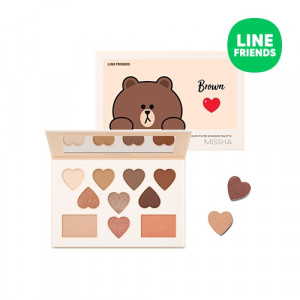 [E] MISSHA (Line Friends) Color Filter Shadow Palette 15g