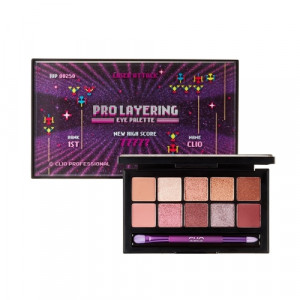 CLIO [Adventure] Pro Layering Eye Palette 1.2g*10