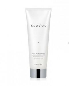 [R] KLAVUU Pure Pearlization Revitalizing Facial Cleansing Foam + Cleansing Foam 30ml 5 + Shopping Bag