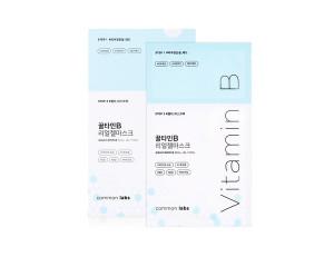 [W] COMMONLABS Vitamin B Real Gel Mask 25g*10ea