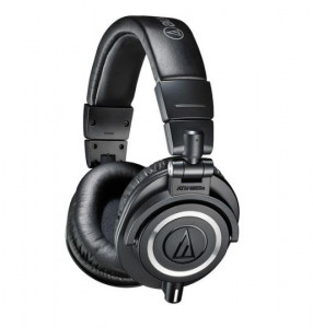 [R] ATH-M50x Pro Studio Monitoring Headphones Black