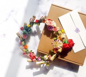 [R] A special money Wreath (envelope 10ea)