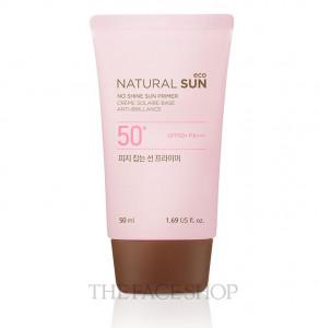 THE FACE SHOP Natural Sun Eco No Shine Sun Primer 50ml